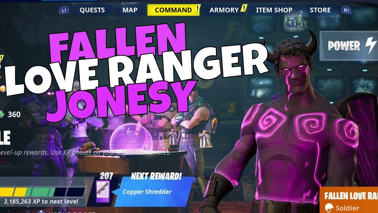 NEW Fallen Love Ranger Jonesy Build Gameplay! Hero Loadout ...