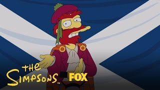 THE SIMPSONS | Willie's Views On Scottish Independence | ANIMATION on FOX
