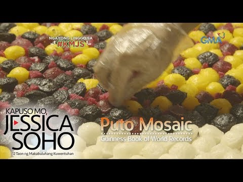 Kapuso Mo, Jessica Soho: Higanteng puto mosaic ng Pangasinan