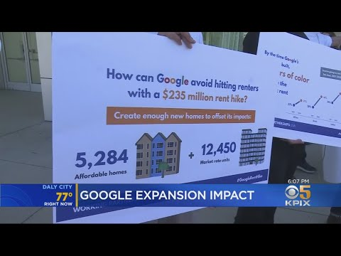 New Report Outlines Serious Impact Of New Google Campus On San Jose Renters