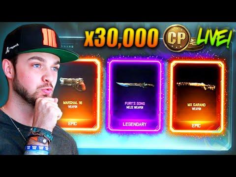 EPIC NEW GUNS...! (Black Ops 3 SUPPLY DROPS) w/ Ali-A LIVE!