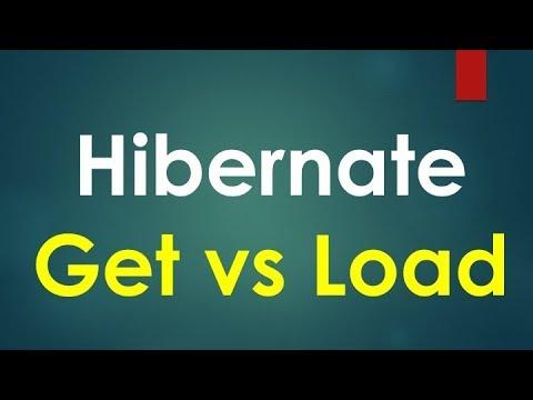 Hibernate get vs load