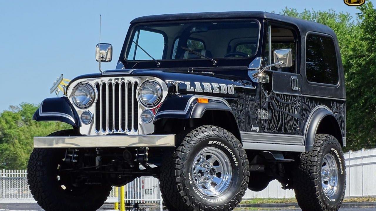 1983 Jeep CJ7 Laredo Gateway Orlando #772 - YouTube