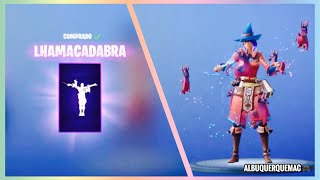 FORTNITE-NEW GESTURE LHAMACADABRA WITH NEW SKIN ELMIRA 🧙‍♀️ IN THE SHOP OF ITEMS FORTNITE TODAY!
