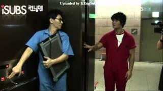 Kim Jong Kook and Ji Suk Jin (Funny Moment)