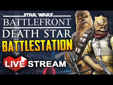 Star Wars Battlefront Death Star | BATTLESTATION, HUGE Space Battle Gamemode! | Gameplay Live Stream