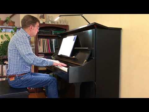 Josef Suk, Capriccietto (Six Piano Pieces, Op. 7, #4)