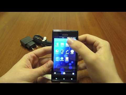 Revisión del Sony Xperia J