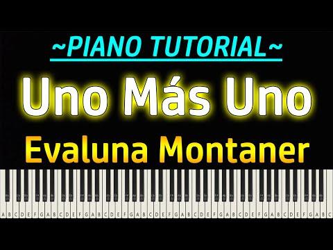 Evaluna Montaner – Uno Más Uno (Piano Tutorial)