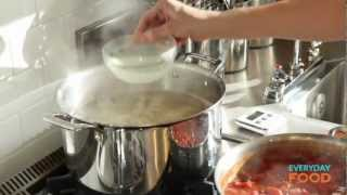 Spaghetti Puttanesca   Everyday Food With Sarah Carey