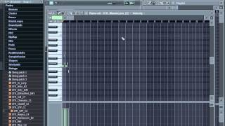 Уроки по FL Studio (пиано ролл_piano roll) part 7(Уроки по FL Studio 9.FL Studio video tutorial,FruityLoops уроки,flstudio обучение., 2012-03-04T10:50:01.000Z)