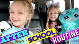 Francesca and Leah's AFTER SCHOOL ROUTINE!!!