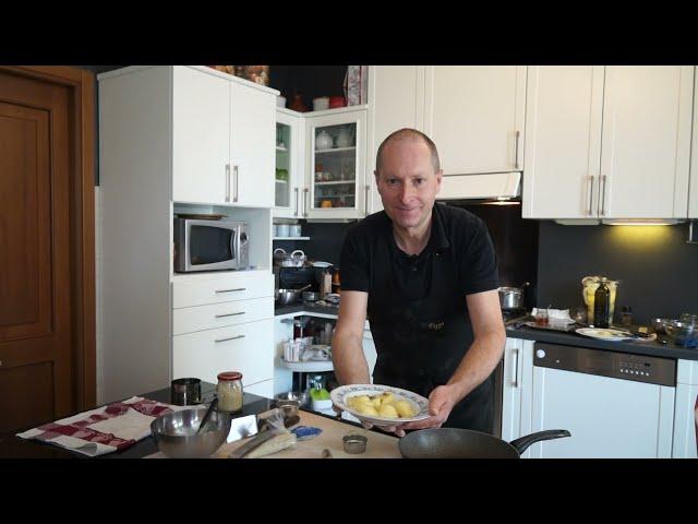 Ravioli di patate ripieni di gorgonzola