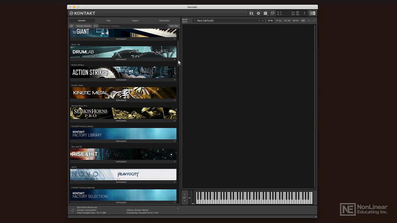 What Can You Do With Native Instruments Kontakt 6? : Ask Audio