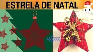 ESTRELA PENDURICALHO DE NATAL ENFEITE PARA ÁRVORE