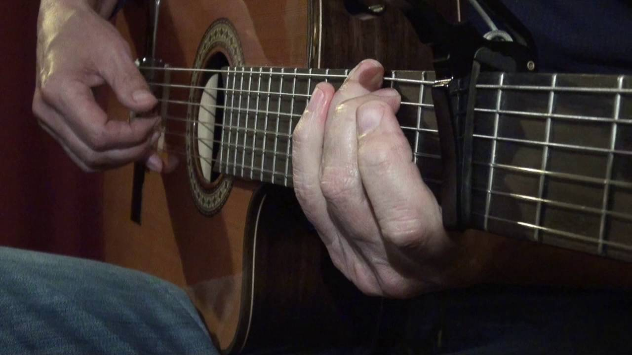 A Hazy Shade Of Winter Riff Tutorial Acoustic Guitar Youtube