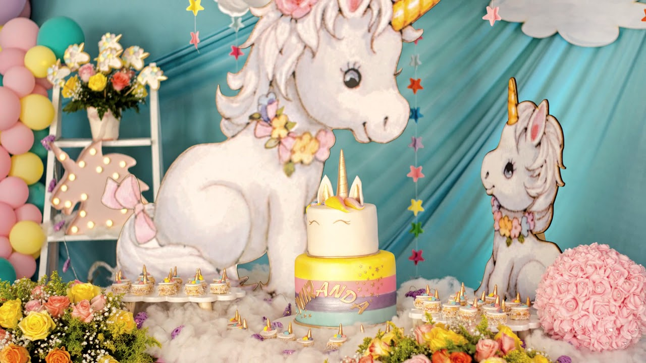 Decoracion Infantil Baby Shower Tematica Unicornios