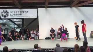B.Supreme Streetfest 2015 Bgirl 2v2  Finals Eddie & Terra (Soul Mavericks) vs Marta & sMash