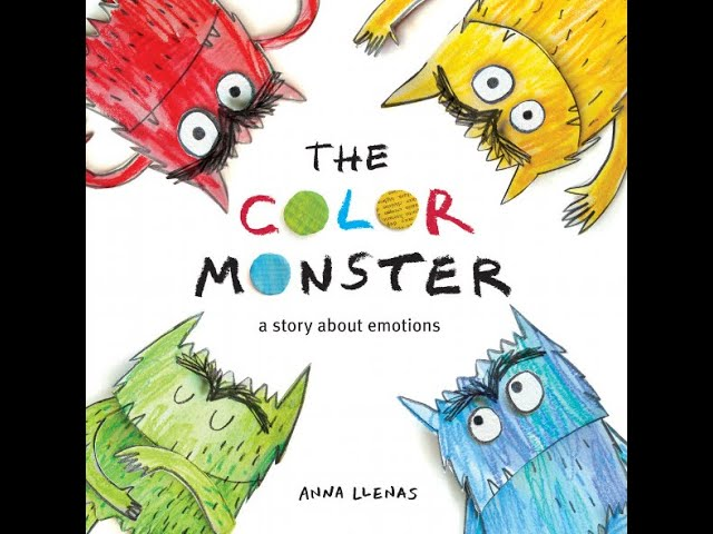 The Color Monster Read Aloud By Mr Joshua Brooks Youtube