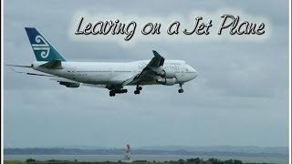 Leaving on a Jet Plane 60's Acoustic Guitar Cover Pop Music Song Peter Paul and Mary John Denver