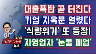 """[금융위기 펑?] 저축은행 영끌 """"대출 폭탄 …"""