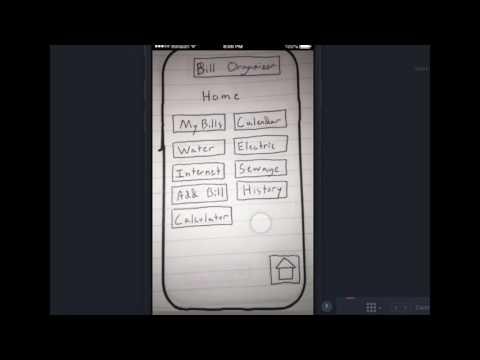 Bill Organizer App