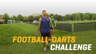 AS Roma Football Darts Challenge: Alisson v Juan Jesus