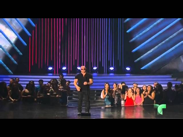 Vin Diesel y Michelle Rodriguez en los Premios Billboard 2013 fast and furios 6 Travel Video