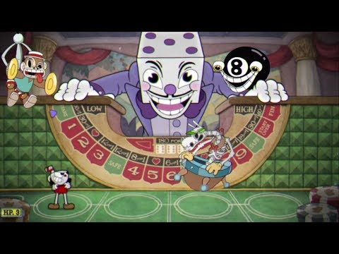 Cuphead: All Bets Are Off A+ (All Casino Bosses and King Dice) without damage
