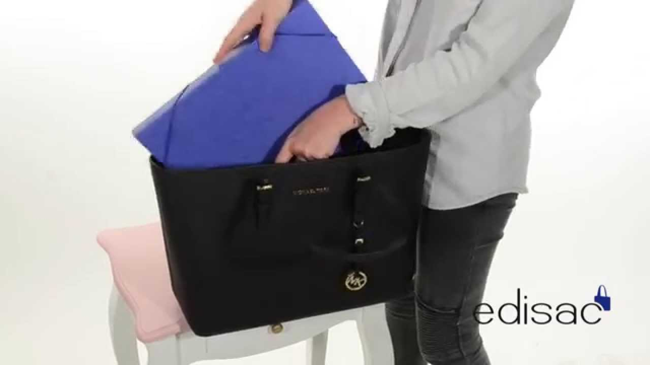 14707a563f Shopping cabas Michael Kors - Ligne Jet Set Travel - YouTube