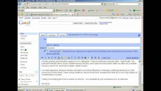 How to Attach and Email a Resume
