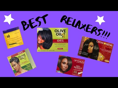🍁RELAXED HAIR: BEST RELAXERS!!!(2019)