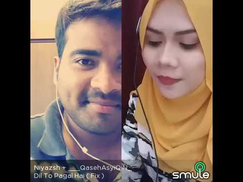 Dil To Pagal Hai duet Smule terbaikkk MELAYU VS HINDUSTAN MANTAP