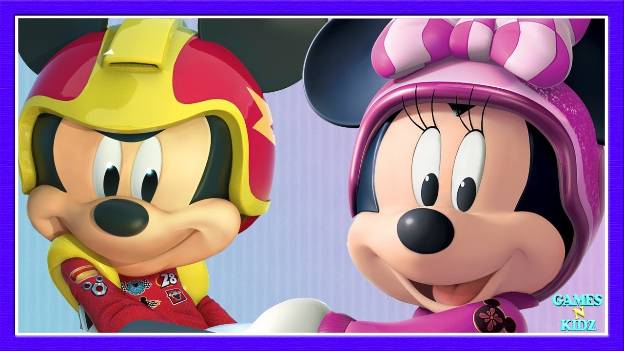 Mickey Mouse & Minnie Mouse Roadster Racers & Happy ...