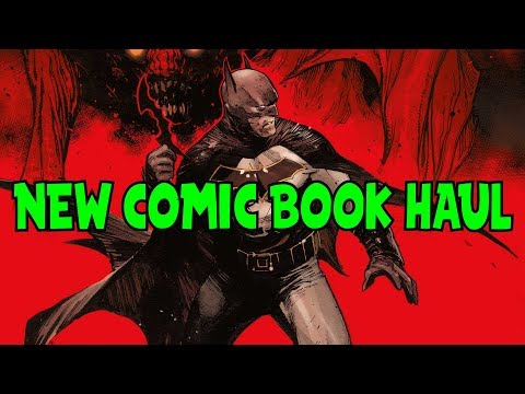 New Comic Book Haul November 9 2017