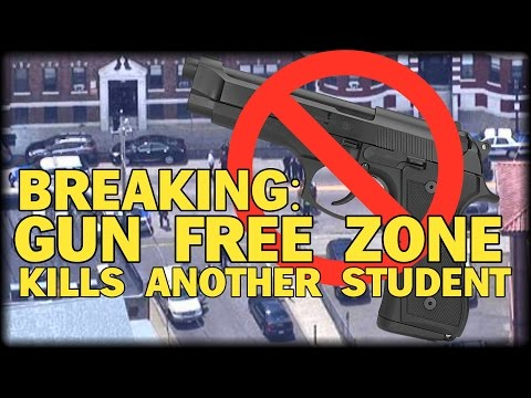 BREAKING: BOSTON GUN FREE ZONE LEAVES ANOTHER STUDENT DEAD