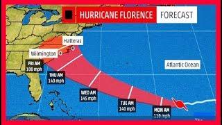 Noticias Ultimo Minuto EEUU: Huracan Florence Entrara a Estados Unidos