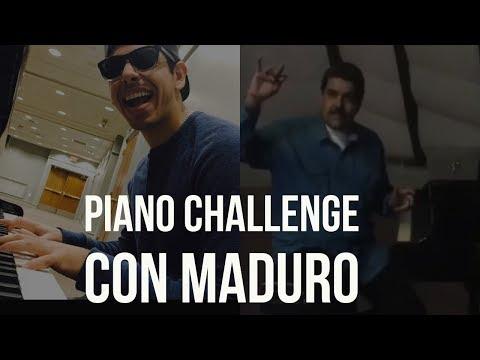 Piano Challenge con Maduro