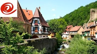 Motorhome Route to Kaysersberg Aire de Camping Car, Alsace - France