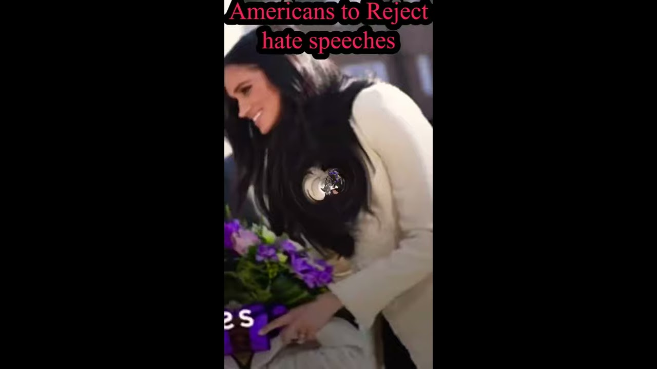 Harry and Meghan message Americans to reject hate speech and vote | US upcoming elections 2020