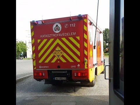 Katasztrófavédelem Mobil Labor riasztás / Disaster Management Haz-Mat team Budapest