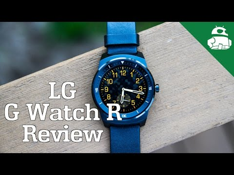 LG G Watch R Review!