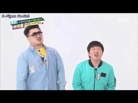 Big Byung & Chamsonyeo Weekly Idol - Ojingeo Doenjang & Magic Words (Hun Sub)