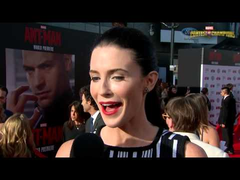 Bridget Regan at Marvel's Ant Man Premiere - YouTube