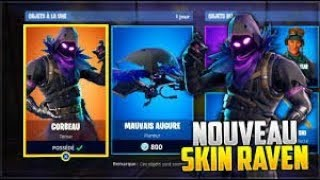 Fortnite I buy the new skin (crow)