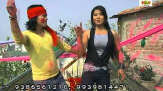 Holi Me Choli Kahe Jindabad Re || HD Video 2015 New Bhojpuri Song || Dipak Chhaliya, Puja Sharma