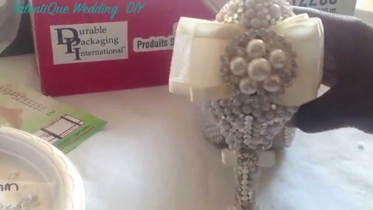 DIY bling your Wedding Shoes - YouTube
