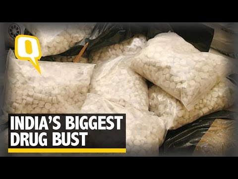 The Quint: 23.5 Metric Tonnes of Mandrax Seized in the 'Biggest' Drug Bust