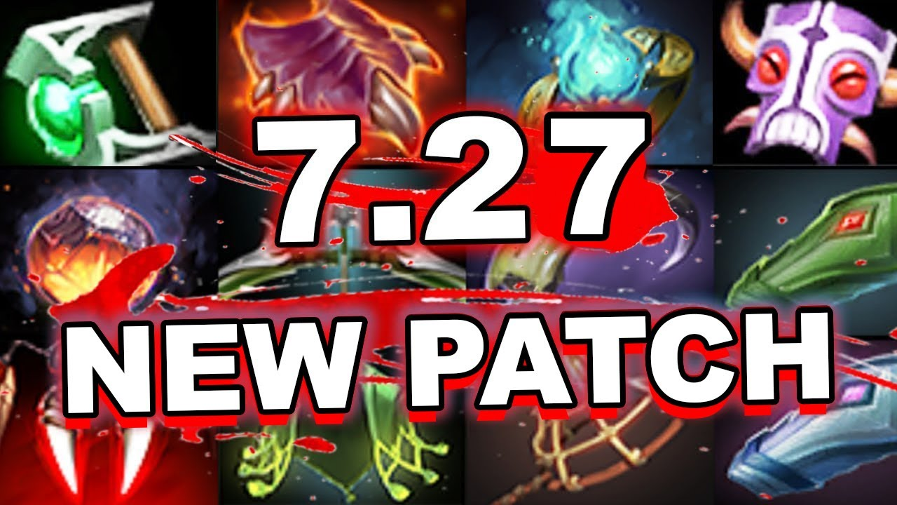Dota 2 NEW 7.27 PATCH - MAIN CHANGES (ITEMS)!