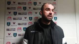 POST MATCH STAMFORD INTERVIEW. Kidsgrove Athletic 0 - 1 Stamford AFC